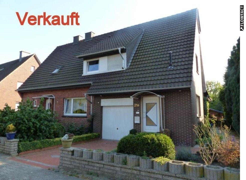Referenzobjekte Meppen Doppelhaus Mit Ca 1100 M² Großen Süd